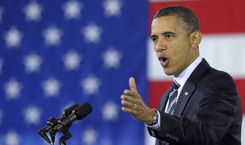 President Obama will visit Maine in March and hold two fundraisers.