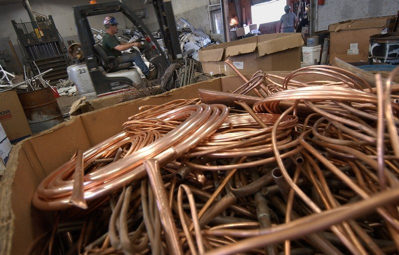 IN DEMAND: Police say copper theft and the resulting damage is a statewide problem, with dozens of cases reported every year.