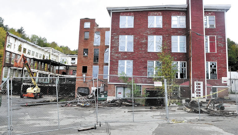 AT ISSUE: Wilton selectmen have taken steps to keep the town from foreclosing on this contaminated demolition site, highlighting a struggle many municipalities face to avoid taking ownership of undesirable property.