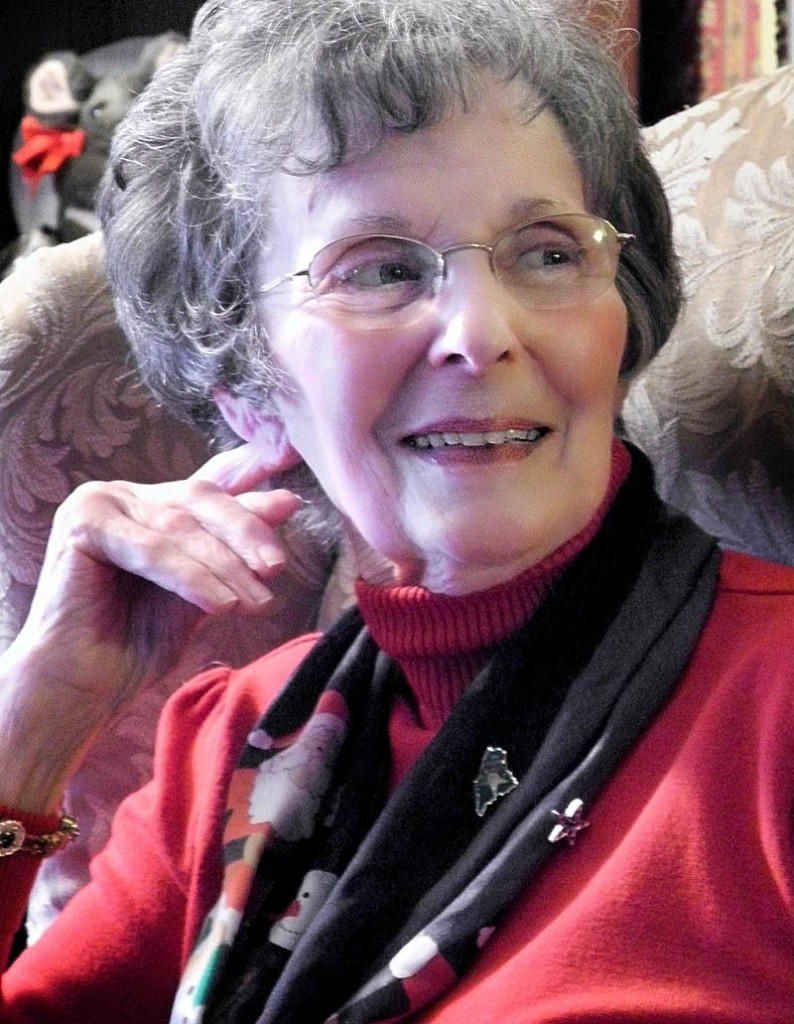 MAINSTAY: Longtime Morning Sentinel writer Betty Withee died on Sunday. She was 78.