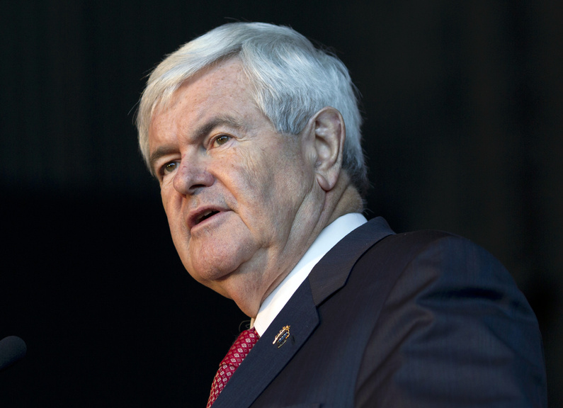 Republican presidential candidate, former House Speaker Newt Gingrich, won the Georgia Republican primary Tuesday.