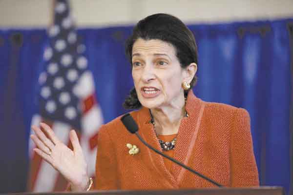 "NO MIDDLE GROUND: Sen. Olympia Snowe, R-Maine, cited how the ""sensible center has now virtually disappeared"" as a reason she has decided not to seek a fourth term."