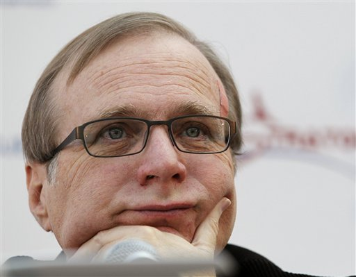 Microsoft co-founder Paul Allen in a December 2011 photo.