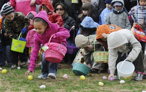 Organizers have canceled this year's Old Colorado City Easter Egg Hunt on in Colorado Springs Colo. They say that last year aggressive parents swarmed into a tiny park, determined that their kids get an egg.