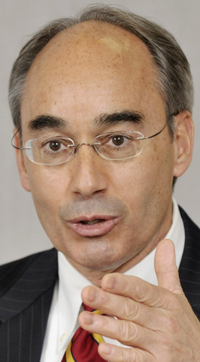 State treasurer Bruce Poliquin, who is also a candidate for U.S. Senate.