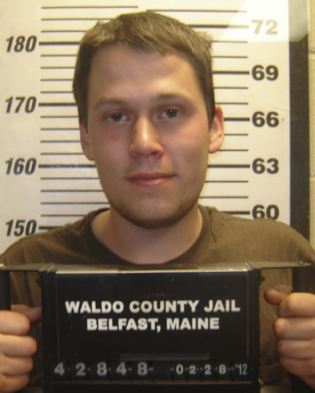 In this Feb. 28 photo provided by the Waldo County Sheriff Department, State police say they charged 24-year-old Daniel Porter, pictured here at the Waldo County Jail, in the death of Jerry Perdomo of Seminole County, Florida, who vanished Feb. 16. (AP Photo)