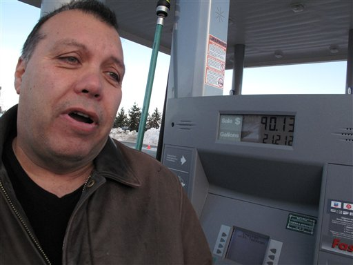 IW.M. Lewis talks about the rising cost of gasoline in Anchorage, Alaska, where regular unleaded cost as much as nearly $4.25 a gallon earlier this week.