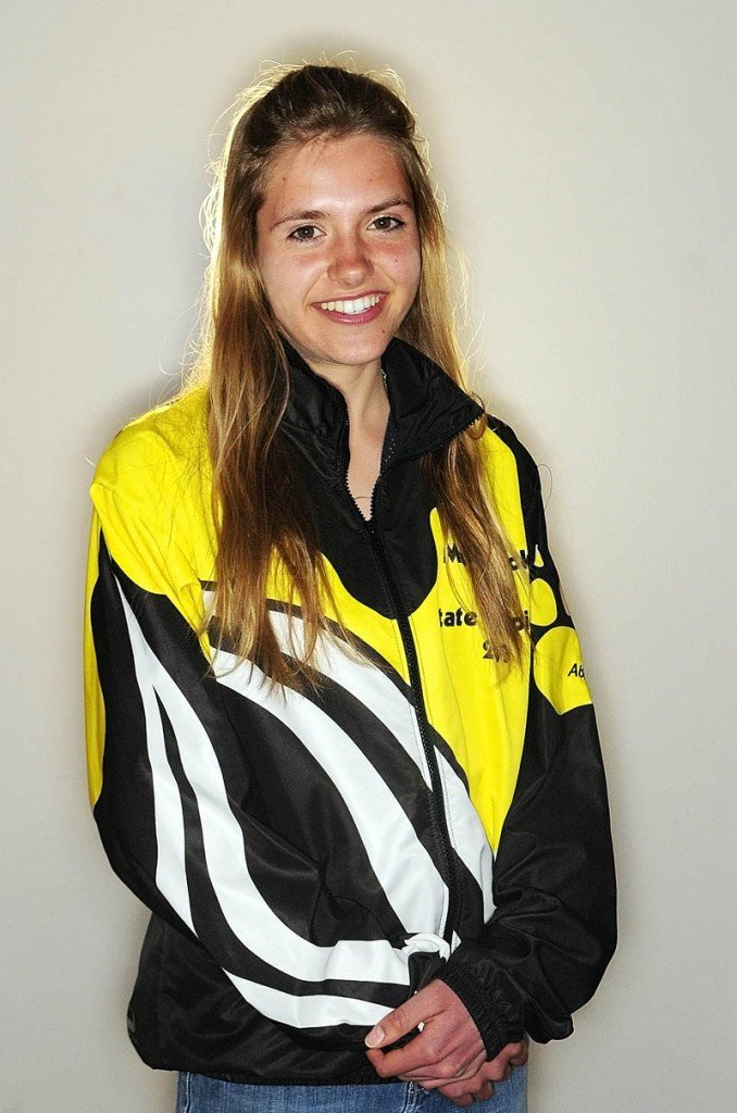 Kennebec Journal Girls Nordic Skier of the Year Abby Mace