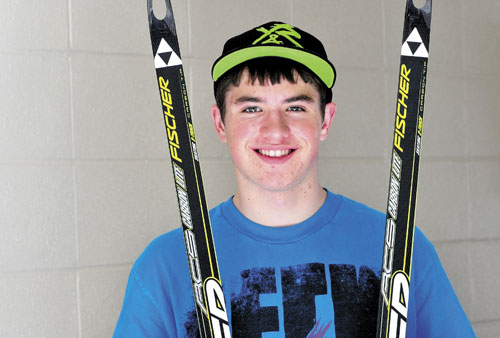 Morning Sentinel Boys Nordic Skier of the Year Dustin Staples