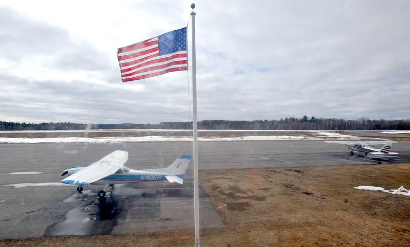 FISCAL WOES; The Central Maine Airport in Norridgewock is in the middle of major runway renovations and is considering borrowing money from the town's general fund.