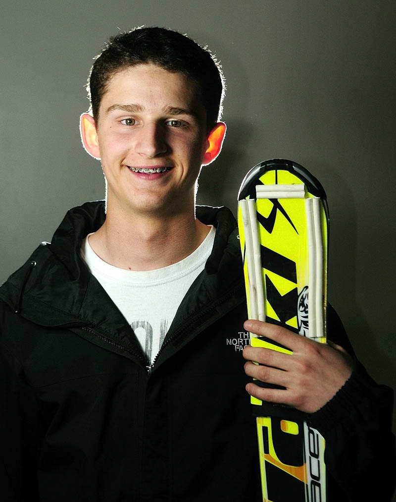 Kennebec Journal Boys Alpine Skier of the Year Alec Daigle
