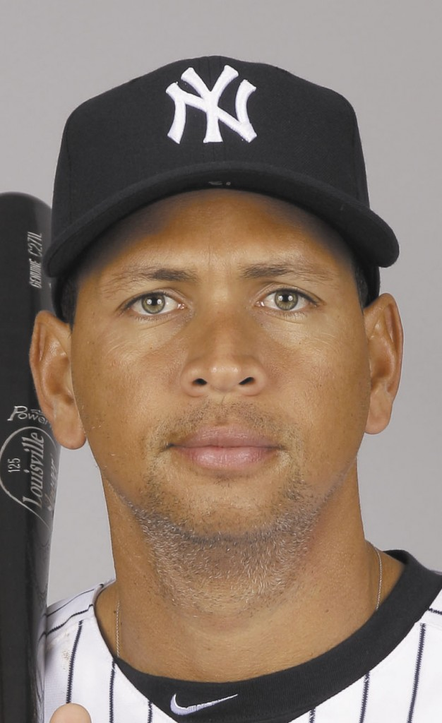 ALEX RODRIGUEZ headshot
