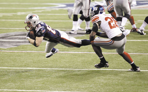 STAYING PUT: New England Patriots placed the franchise tag on wide receiver Wes Welker, who would be paid about $9.5 million next season unless the sides work out a long-term deal. Welker's exact salary would not be set until the league determines the salary cap for next season.