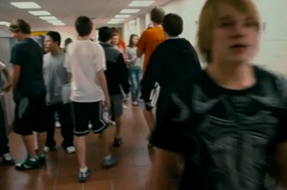"""A screen image from the documentary """"Bully."""" Theater operators say they aren't sure the film will be distributed in Maine,"""