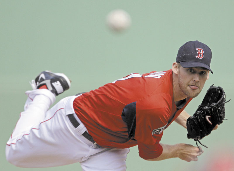 A SOLID START: Boston Red Sox pitcher Daniel Bard pitched two scoreless innings against the Baltimore Orioles, allowing no hits, while walking one and striking out two Tuesday in in Fort Myers, Fla.