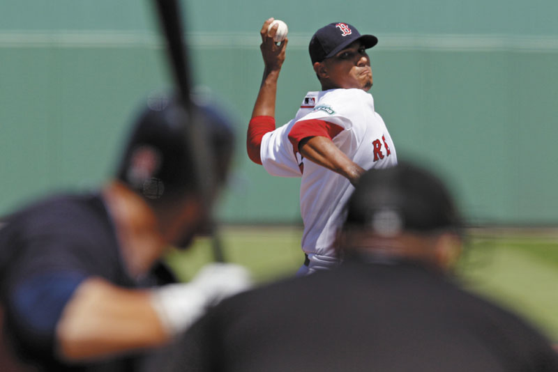 HIS DREAM IS TO START: Felix Doubront is one of three pitchers in camp with the Red Sox battling for one of two spots in the Boston Red Sox starting rotation, along with Daniel Bard and Alfredo Aceves.