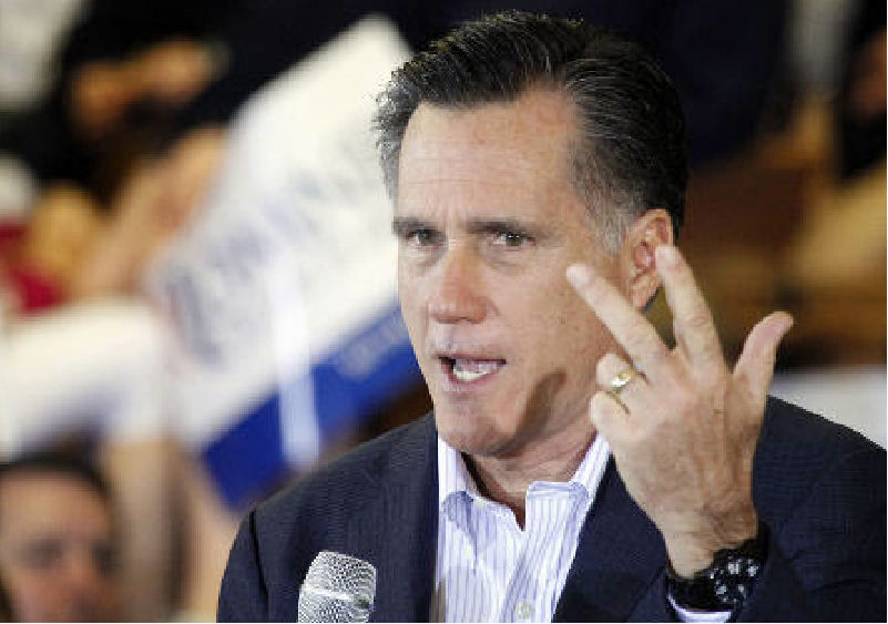Republican presidential candidate Mitt Romney speaks at the Mississippi Farmers Market in Jackson, Miss., on Friday. Despite his primary victories and lead in delegates, the front-runner in the four-person GOP field has failed to catch fire with many Republicans in the South and Midwest. (AP Photo)