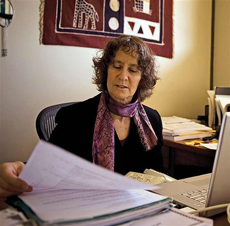 In this undated photo provided by the UC Davis Health System, Irva Hertz-Picciotto is shown. Irva Hertz-Picciotto, a researcher at the University of California, Davis, is leading a study into what sparks autism disorders. More than $1 billion has been spent over the past decade searching for autism's causes, and scientists are finally making progress. (AP Photo/UC Davis Health System)