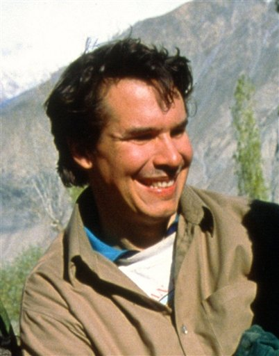 An undated photo of Greg Mortenson, founder of the Central Asia Institute, a Montana-based organization that builds schools for girls in remote tribal areas of Pakistan and Afghanistan.
