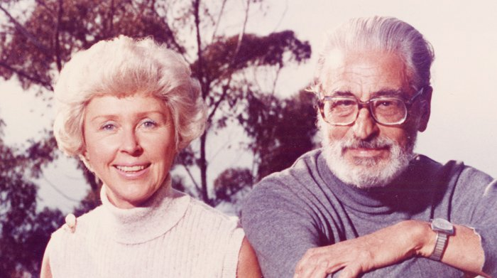 Audrey and Theodor Geisel