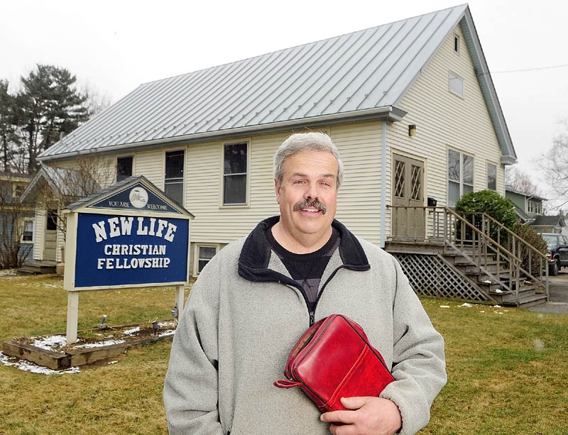The Rev. Paul Dibden is the pastor of New Life Christian Fellowship in Augusta. The group recently moved to a building at the corner of Sewall and King Streets in Augusta.