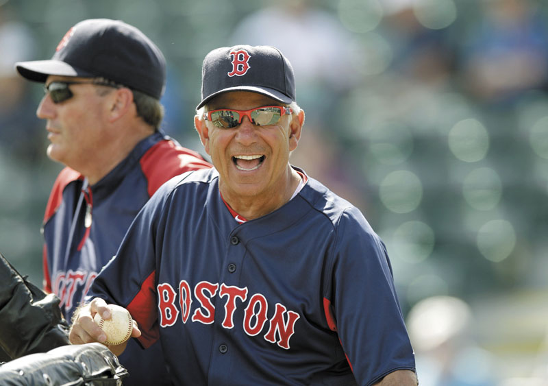 TIME TO TURN IT AROUND: Bobby Valentine was hired this offseason to take over a Boston Red Sox team that collapse in September and missed the playoffs for the second straight season.