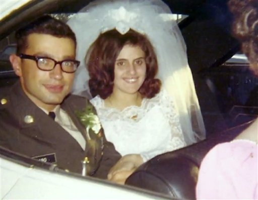 An undated photo of Rose Mary Sabo-Brown with her husband Army Specialist Leslie H. Sabo Jr.