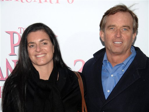 Robert F. Kennedy Jr. and Mary Richardson Kennedy arrive at a movie premiere in New York in this 2009 photo.