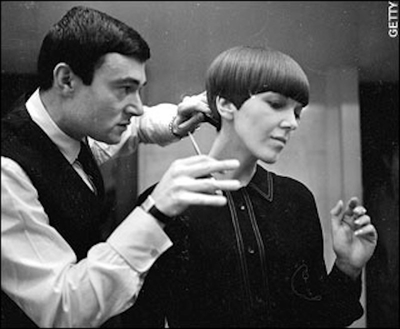 Famed hairstylist Vidal Sassoon died Wednesday at 84. Sassoon's 1960s wash-and-wear cuts freed women from endless teasing and hairspray