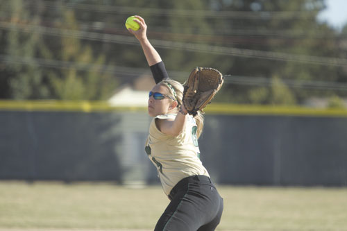 EAGLES ACE: Skowhegan Area High School graduate Becca McCarty helped the Husson University softball team win its fourth straight North Atlantic Conference tournament, winning four straight games.
