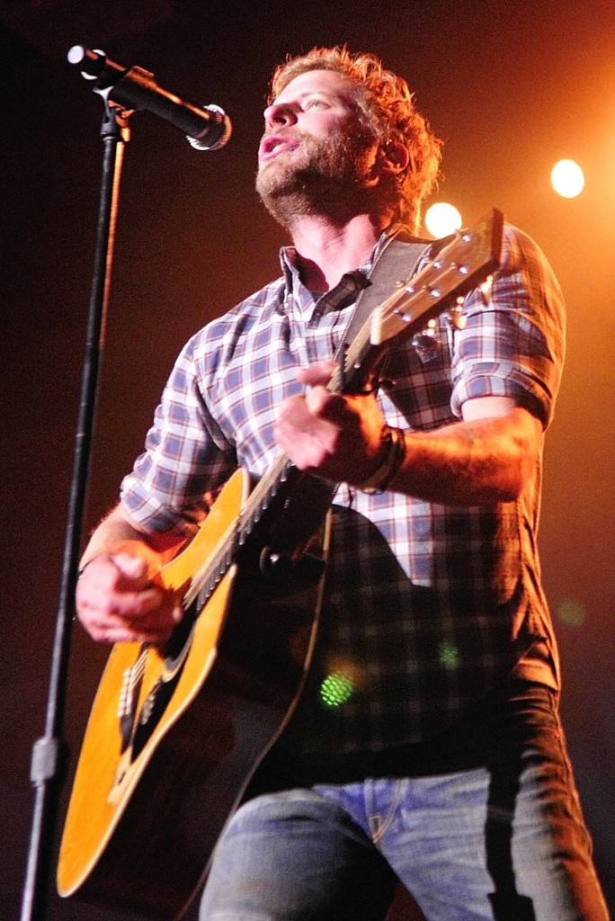 Country star Dierks Bentley performs Thursday night at the Augusta Civic.