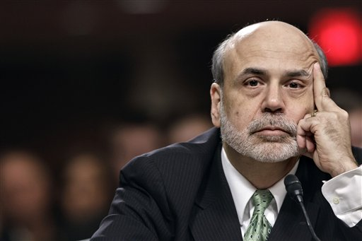 Federal Reserve Board Chairman Ben Bernanke testifies on Capitol Hill before the Joint Economic Committee hearing on the health of nation's economy.