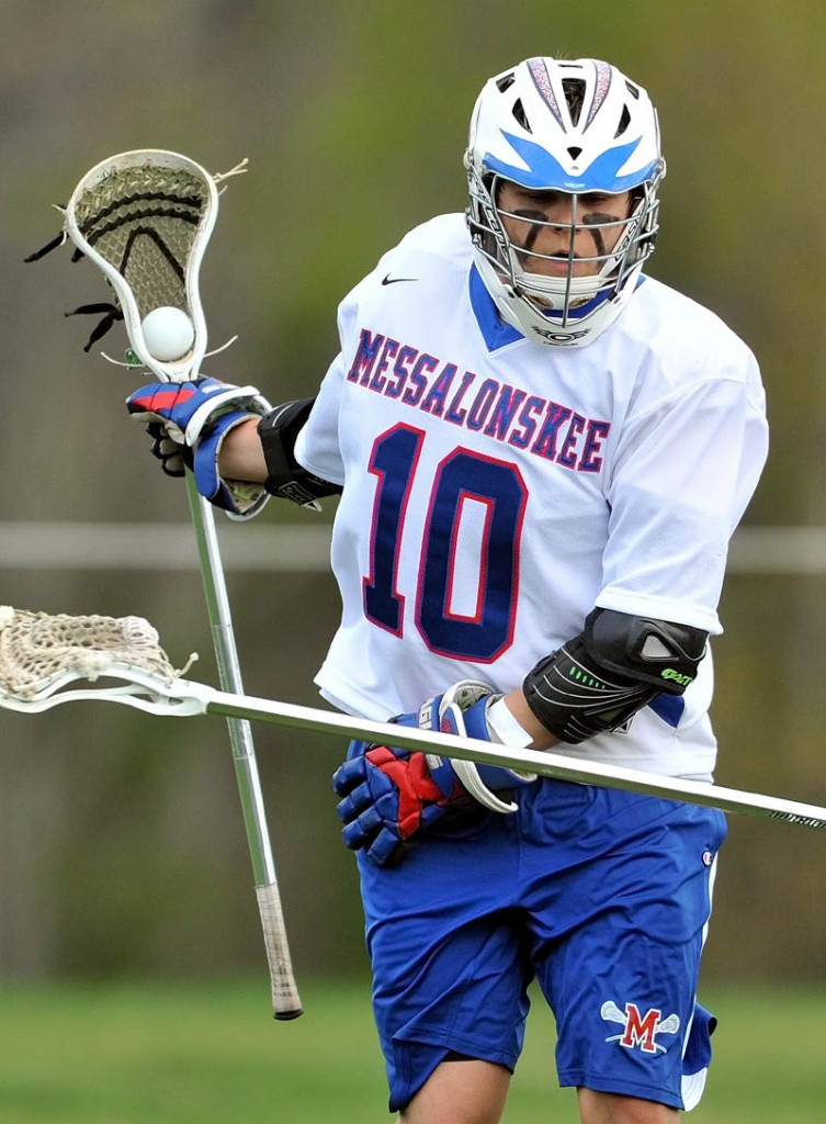 Morning Sentinel / Kennebec Journal Boys Lacrosse Player of the Year Nate DelGiudice