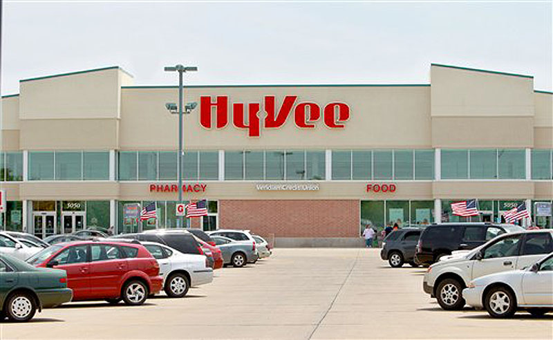 This Thursday, June 14, 2012 photo shows the Hy-Vee store in Cedar Rapids, Iowa where the winning $241 million Powerball lottery ticket was sold. Whoever bought it has yet to claim the jackpot, Iowa lottery officials said Thursday. (AP Photo/The Gazette, Nikole Hanna)