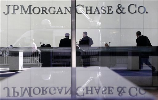 JPMorgan Chase is among 15 of the world's largest banks whose credit ratings have been downgraded by Moody's Investors Service, which says their long-term prospects for profitability and growth are shrinking.