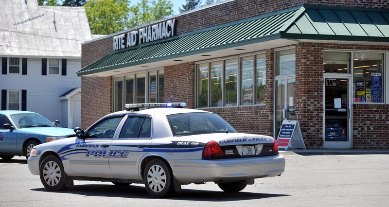 ROBBERY: Rite Aid on Main Street in Fairfield was robbed on Friday.