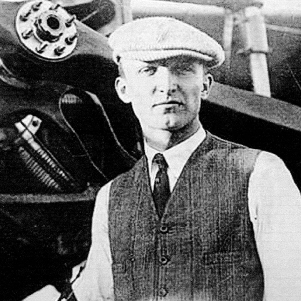 St. Croix Johnstone is the first person to fly an airplane in Maine. On Aug. 9, 1911, Johnstone flew demonstration flights with his Moissant monoplane aircraft in Augusta. Johnstone was originally from Chicago but had learned to fly in France, and then returned to the U.S. and joined Alfred Moissant's traveling air show.