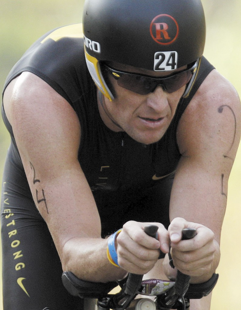 READY TO FIGHT: Lance Armstrong was charged with doping by the U.S. Anti-Doping Agency on Wednesday. Armstrong is gearing up for a fight and has demanded evidence gathered by the USDA including test results and the names of wtinessed who said they saw him use performance-enhancing drugs.