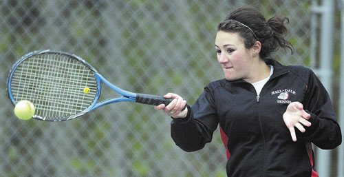 Girls tennis player of the year Wendy Goldman