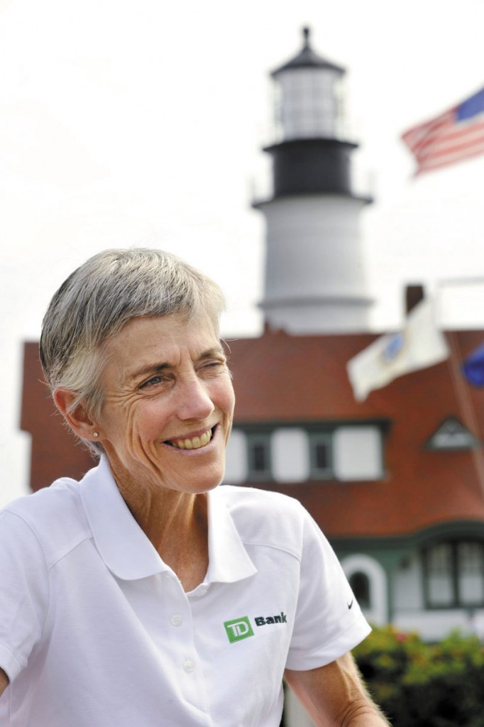 Joan Benoit Samuelson is perhaps the best known Maine athlete. She credits Title IX for helping her break through many barriers to female achievement.