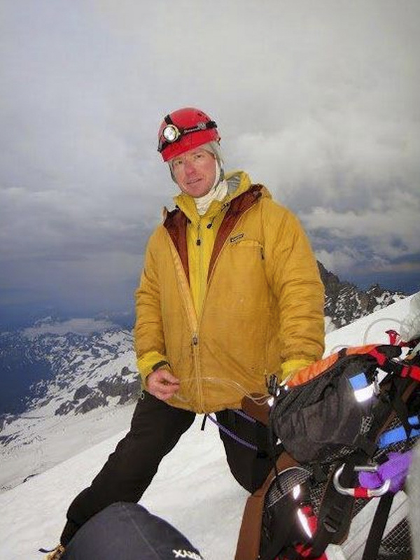 Nick Hall, a veteran of Mount Rainier National Park's climbing program, came from a family of EMTs who aided soldiers in Iraq and accident victims in Maine.