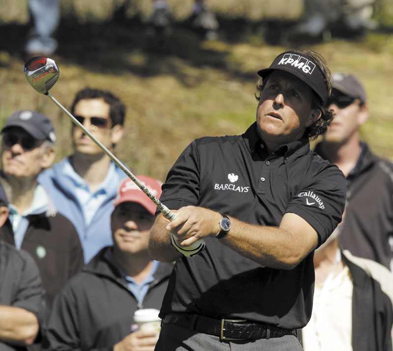 THE ONE THAT'S MISSING: Phil Mickelson no longer has to answer the questions about being the best player without a major victory, but he would love to add a U.S. Open title to his record.