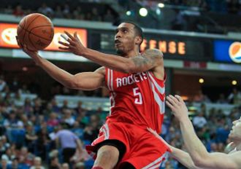Courtney Lee played two seasons in Houston.
