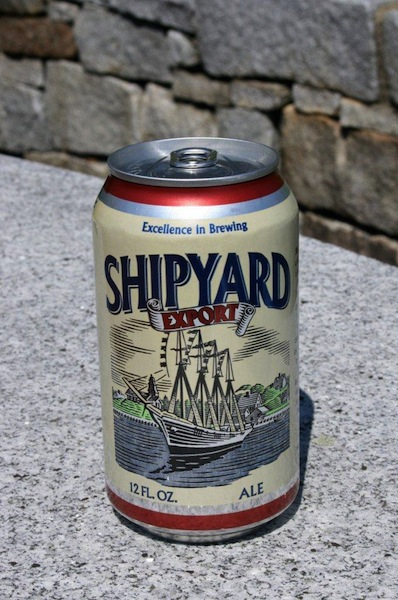 A can of Shipyard Export