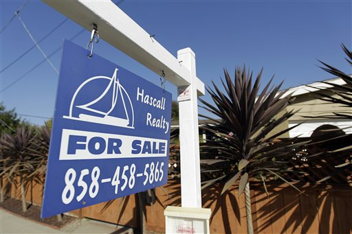 A house for sale in San Diego. Americans bought fewer homes in June than May, indicating the weak economy could make a modest housing recovery choppy.