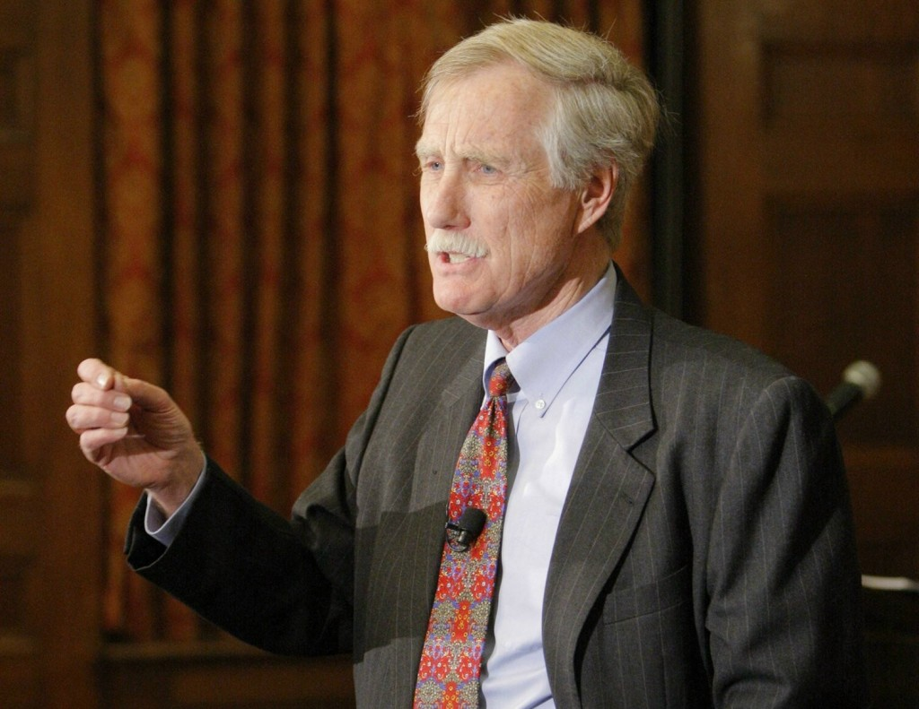 Angus King, independent candidate for U.S. Senate