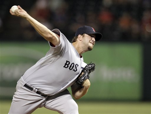 The Red Sox have traded Matt Albers and outfielder Scott Podsednik to the Arizona Diamondbacks for left-hander Craig Breslow.