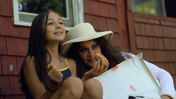 """Karen Black, right, in a scene from """"Vacationland,"""" which shows tonight at the Maine International Film Festival."""