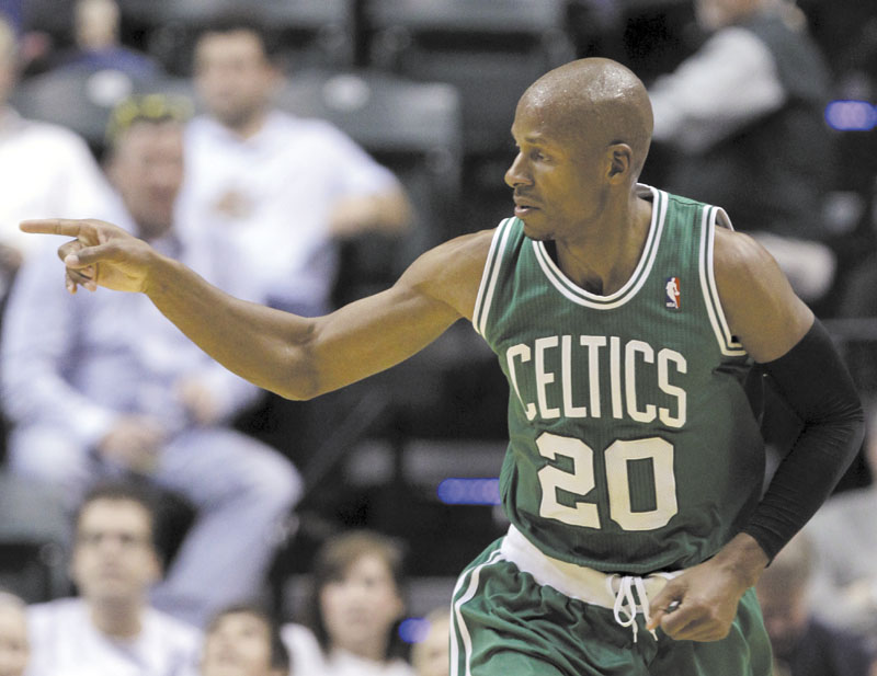 LOKING AROUND: Free agent guard Ray Allen will reportedly meet with the Miami Heat on Thursday. Allen will then meet with the Los Angeles Clippers on Friday.