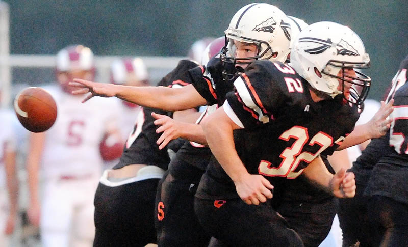Skowhegan Area High School quarterback/defensive back Ethan Johnson will play in the Lobster Bowl on Saturday.